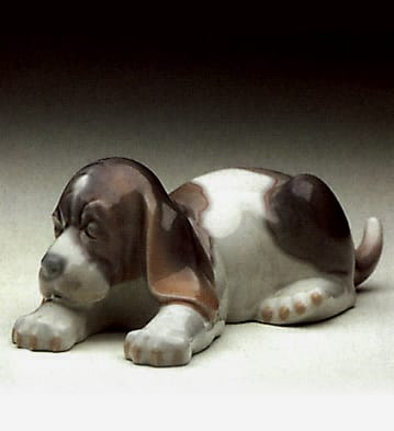 Beagle Puppy Set - Glazed (3)