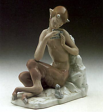 Satyr with Frog