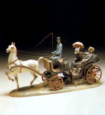 HANSOM CARRIAGE Lladró
