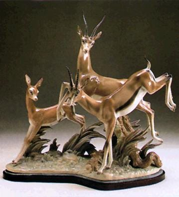 FLIGHT OF GAZELLES