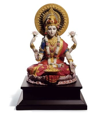 GODDESS LAKSHMI (High Porcelain)