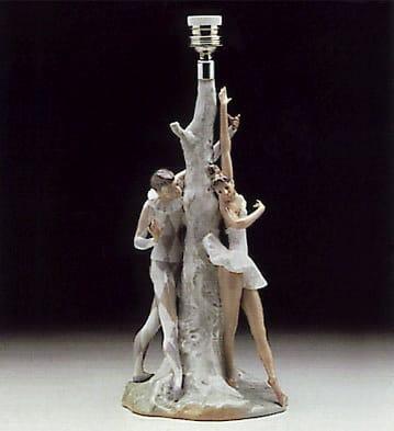 Ballet Lamp Lladro - 01004528 - Functional Lladro Figurines