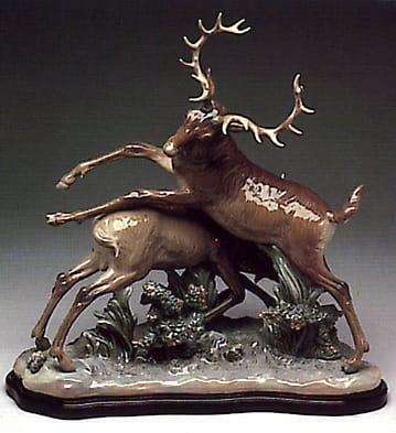 Frolicking Stags