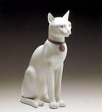 Egyptian Cat (White)