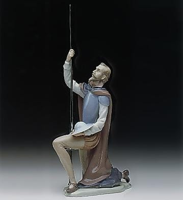 quixote on guard lladro 01001385 history and