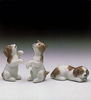 Mini Puppies  (Set of 3) Lladró