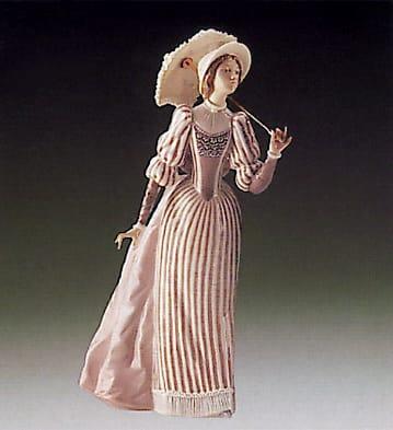 English Lady Lladro - 01005324 - Women Lladro Figurines ...