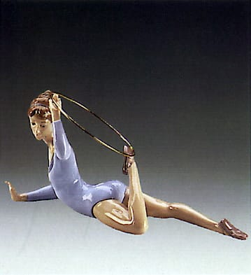 Gymnast with Ring Lladró