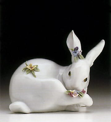 Bunnies with Flowers (4)