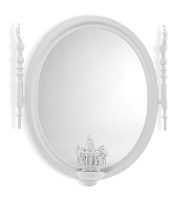 Large Oval Mirror (Re-Deco)