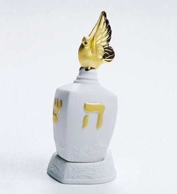 Dreidel with Dove (Re-Deco)