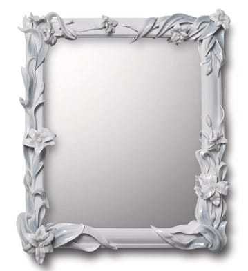 MIRROR WITH LILIES (WHITE) Lladró