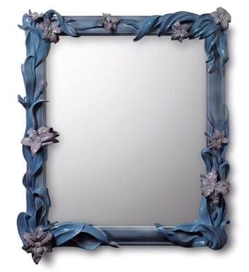 MIRROR SET WITH LILIES (4)
