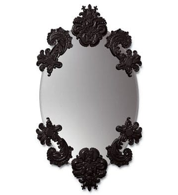 MIRROR SET, OVAL W/O FRAME (6)