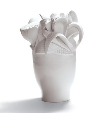 Naturofantastic - Small Vase (White)