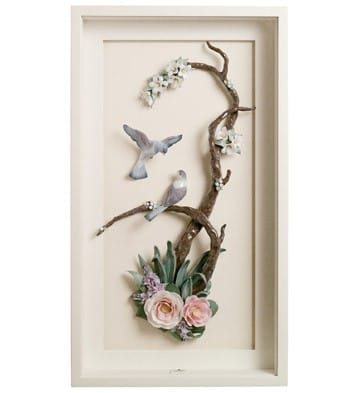 Birds On Branch - Wall Art
