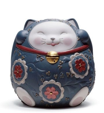 Maneki Neko II (Blue)