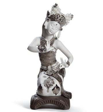 Bali Dancer Kneeling (Re-Deco)