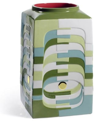 Vase Set - Estratos (Green)