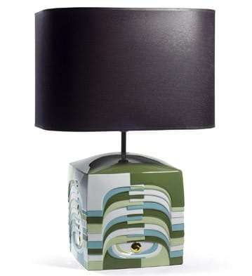 Estratos - Small Lamp (Green)