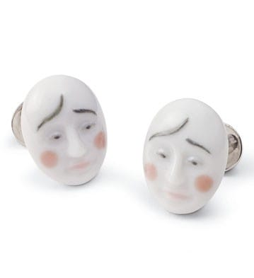 Cufflinks Smart Clown Lladró