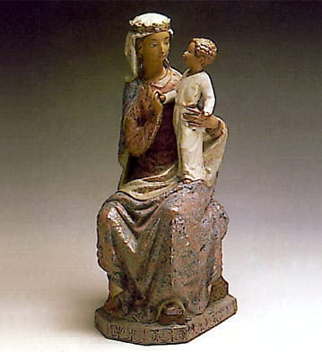 MADONNA SEATED Lladró