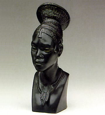 Head of Congolese Woman Lladró