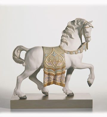 A Regal Steed (Gres) / White