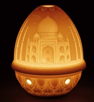 Lithophane Votive Light - TAJ Mahal Lladró