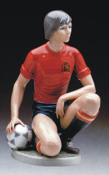 Male Soccer Player Lladró