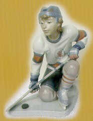Hockey Player (Prototype) Lladró