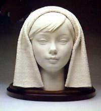 Girl's Head (White)