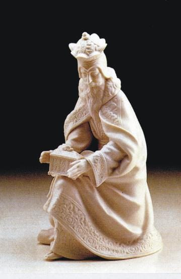 Nativity Set (8) - White