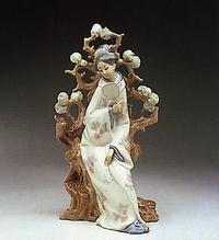 geisha lladro 01004807 the world lladro figurines